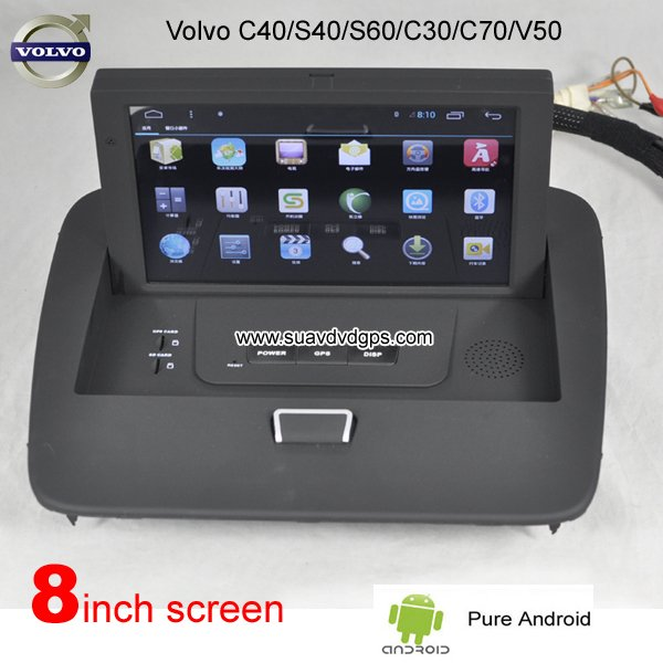Pure Android GPS / Volvo_Car dvd player GPS navigation Manufactory