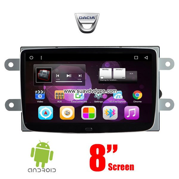 pure android gps dacia car dvd player gps navigation manufactory. Black Bedroom Furniture Sets. Home Design Ideas